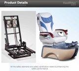 A cadeira BRITÂNICA de Pedicure do Manicure usada associa a fibra de vidro (A502-15-K)