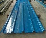 Feuille de fer ondulé de feuille de toit de zinc