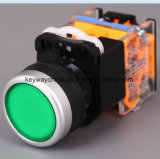 Interruttore di pulsante della scanalatura 6-380V 22mm con la certificazione