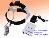 3W medizinischer HNO-LED Scheinwerfer mit nachladbarer Lithium-Batterie