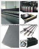 impressora UV do leito do diodo emissor de luz da grande escala dos pés 4X8
