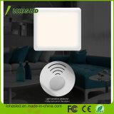 Lámpara blanca de la noche del sensor ligero LED para el sitio de los cabritos