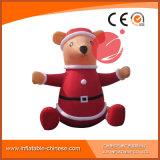 Mascotte gonfiabile C1-218 del fumetto dell'orso di natale