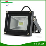 12LED SMD3528 IP65 Solarflutlicht des garten-Flut-Licht-6V 3W des Sonnenkollektor-LED mit Batterie 2200mAh