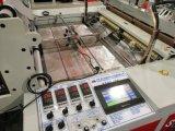 Linha saco da alta velocidade quatro do t-shirt da estaca fria que faz a máquina com unidade de perfuração (SSC-1000F)