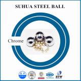 esfera de aço de cromo 52100 de 2mm para os rolamentos, carregando a esfera de aço