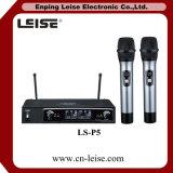 Ls P5 고품질 이중 채널 UHF 무선 마이크