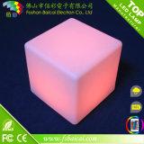 Meubles imperméables à l'eau de barre de maison de cube en éclairage Chair/LED Furniture/LED du grand dos DEL de cube