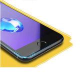 3D Full Cover Plastic Edge Anti Blue Ray protetor de tela de vidro temperado para iPhone 6