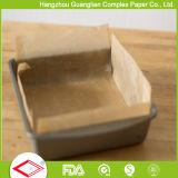 Custom Pre-Cut Siliconized paneles de pan de papel de pergamino antiadherente