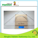 Hw-Tr30 사무실 삼각형 통치자 고정되는 2PC PVC 패킹 Haiwen 상표 통치자 세트