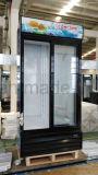 Schieben der doppelte Tür-Verkaufsberater-Kühlvorrichtung