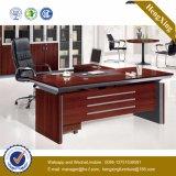 Pés de madeira L conservado em estoque mesa de escritório executivo da forma (HX-FCD012)