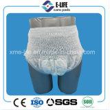 L'adulte adulte de garniture de garniture d'incontinence tirent vers le haut l'usine de couche-culotte avec le prix bon marché