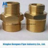 Conetor de bronze da tubulação da porca