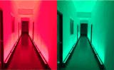 屋外ポイント制御防水14*30W RGB 3in1 LED壁の洗濯機