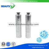 Tubes en aluminium de couleur de finissage argenté de pétrole pour l'emballage de crème de main