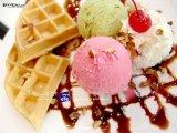 No desnatadora de la lechería para el helado