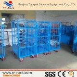 Trole logístico da tabela do armazenamento para o armazenamento do armazém