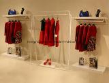Cremalheira de indicador do quadro do gancho da roupa do painel de Slatwall para a decoração de loja da roupa
