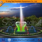Tipo fuente de la combinación del diseño de Seafountain de la música