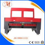 Máquina de estaca do laser do CNC do metal com estrutura feita sob encomenda (JM-1680H-CCD)