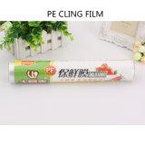 La película biodegradable del PE, se aferra película plástica del alimento, jumbo de la película plástica