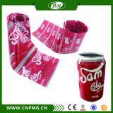 Étiquette de rétrécissement d'impression pour le joint de collet de capsule et de bouteille
