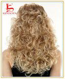 Peluca brasileña del frente del cordón del pelo de la Virgen del pelo humano del 100%