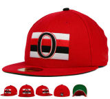 2017 el béisbol masculino del bordado rojo caliente de la venta 3D del verano se divierte los casquillos