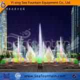 Seafountain Entwurfs-städtischer Aufbau-Multimedia-Musik-Brunnen mit Wasser-Bildschirm-Film