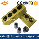 5 отверстий плоский Anchorage для Prestressed бетона