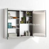 Gabinete do espelho do banheiro da mobília do aço inoxidável (7062)