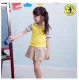Юбки пола OEM изготовленный на заказ желтые, форма начальной школы для малышей