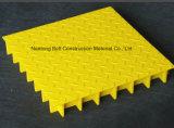 La vetroresina di Gfrp ha riguardato la grata, la grata coperta, griglia modellata della fibra di vetro della fibra