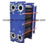 Échangeur de chaleur de plaque de garniture de l'huile de graissage solides solubles