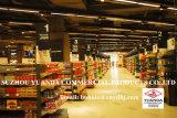 Полка супермаркета гондолы металла Pegboard 4 слоев Double-Sided