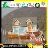 Chalet de acero ligero (casa de madera, casa prefabricada)