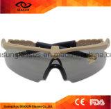 عسكريّة [غغّلس] 3 أو 5 عدسة [رفو] جيب نظّارات شمس تكتيكيّ زجاج [إشيلد] لأنّ [ور غم] [أيرسفت] تصويب