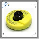 高品質印刷できる動物RFIDの耳札