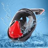 Red+Black volles Gesichts-schnorchelnder Schablonen-Anti-Fog 270 Grad Seaview ohne Gopro Kamera-Montierungs-Cer FDA