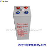 Bateria tubular do sistema solar Opzv da bateria 2volt 1000ah do gel