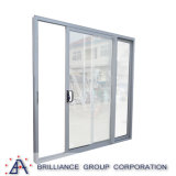 Puertas deslizantes de la rotura termal de aluminio de la doble vidriera