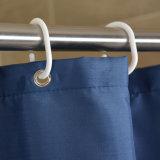 Tenda di acquazzone impermeabile solida della stanza da bagno del poliestere per l'hotel (04S0020)
