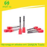 strumenti standard lunghi delle frese di CNC del laminatoio di estremità di lunghezza della lamierina di 6mm per CNC