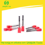 6mmのCNCのための長い刃の長さの端製造所標準CNCの製粉カッターのツール