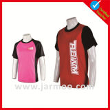 T-shirt confortable de polo d'articles de sports