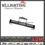 Indicatore luminoso d'avvertimento del bastone di 12 W con la parentesi