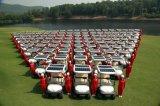 Zonne Macht 2 de Elektrische Karren van het Golf Seater