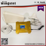 2016 Hot Sale Dual Band 900 / 2100MHz GSM Cellular Networks 2g 3G Mobile Phone Signal Repeater